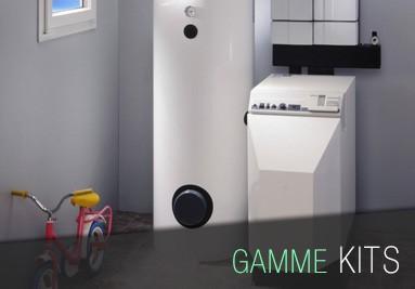 Kits d'isolation pour garage, porte de service ou chauffe-eau